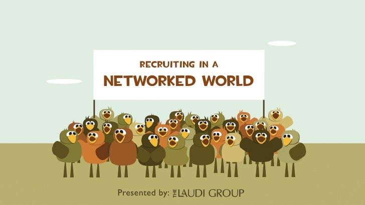 Recruiting in a Networked world      Presented by: