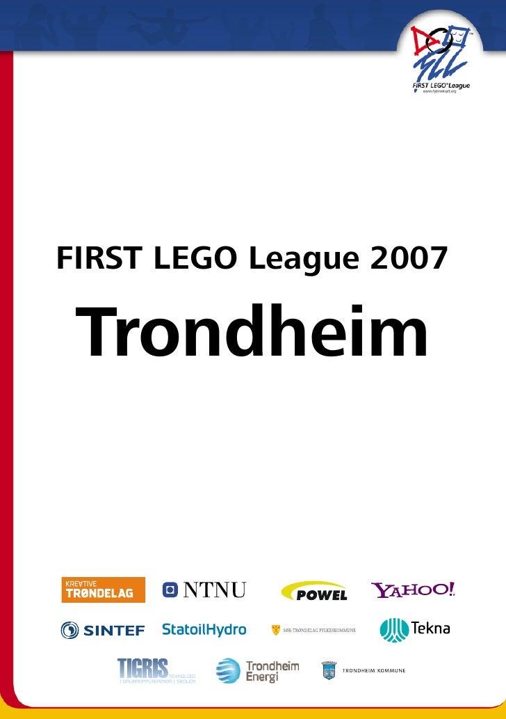 FIRST LEGO League 2007   Trondheim