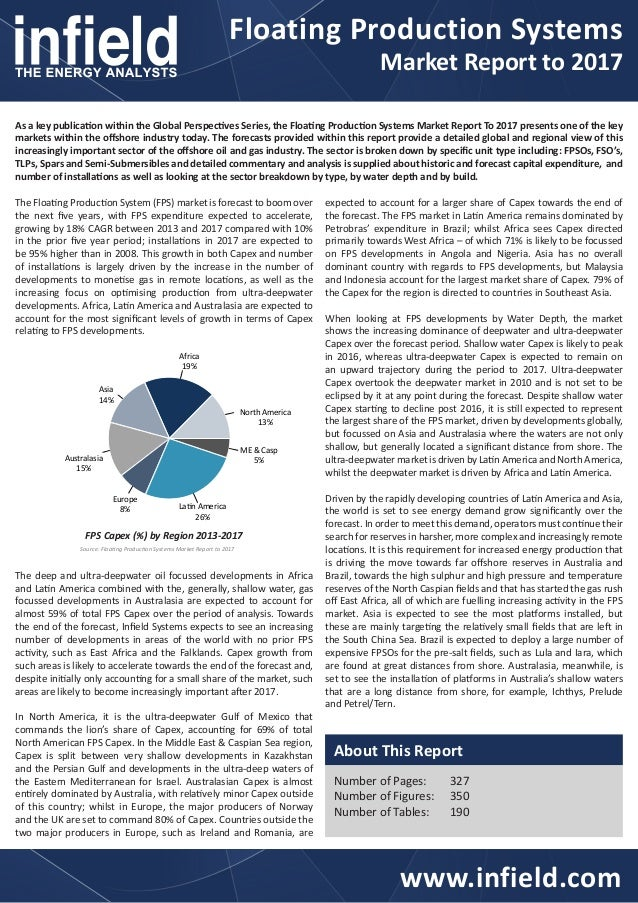 Floating Production SystemsMarket Report to 2017www.infield.comAs a key publication within the Global Perspectives Series,...