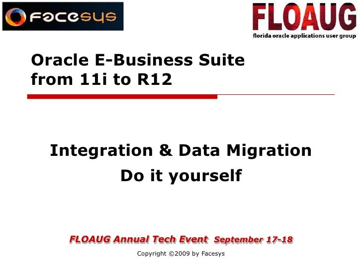 Conviface at OAUG -11i to R12