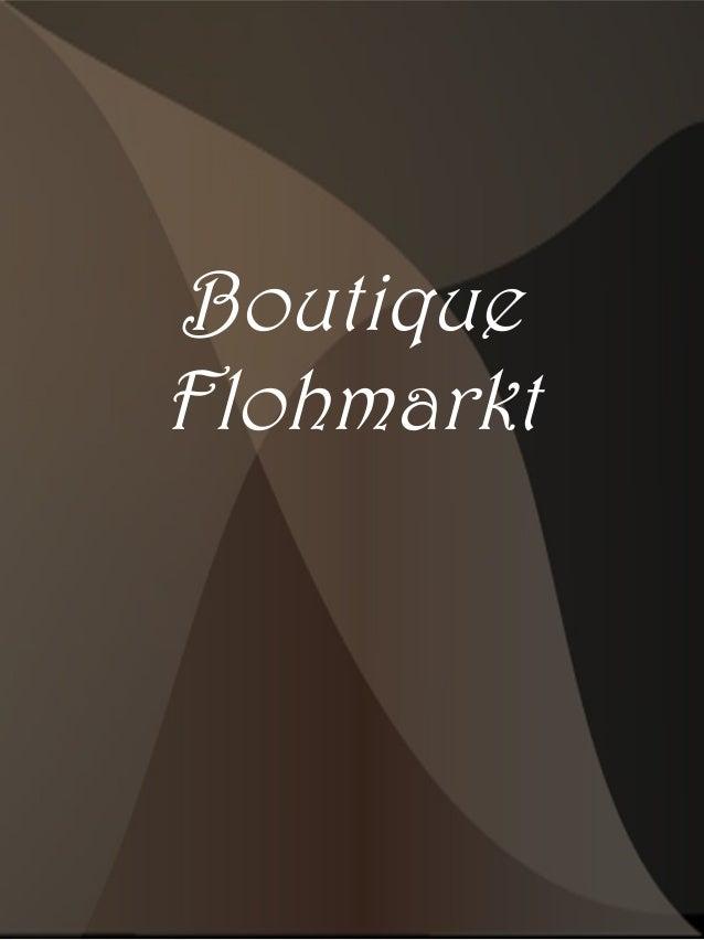 Boutique Flohmarkt