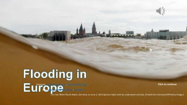 by le vinhbinhThe river Rhine floods Mainz, Germany on June 2, 2013 (picture taken with an underwater camera). (Fredrik Vo...