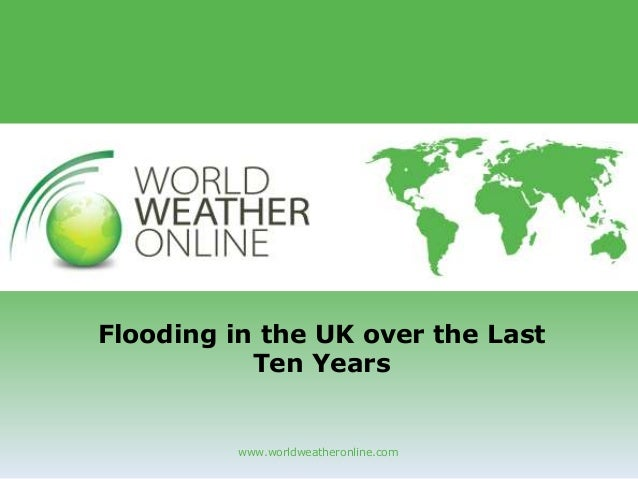 Flooding in the UK in the Past Ten Years
