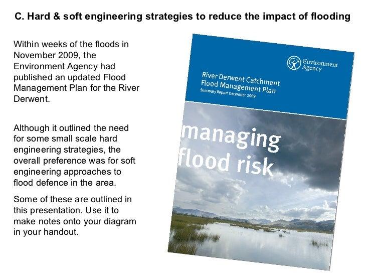 The management of the flood hazard of the River Derwent
