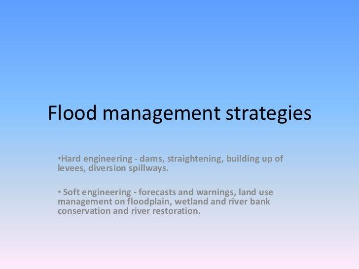 Floodmanagementstrategies