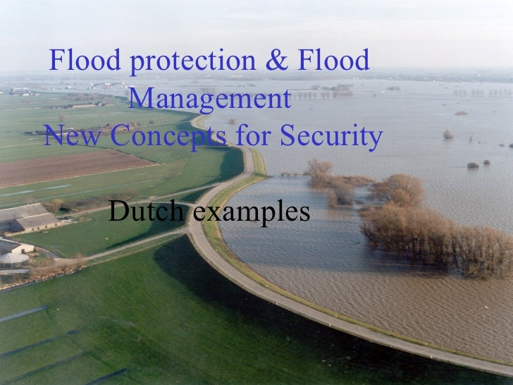 Flood Protection And Management Nl