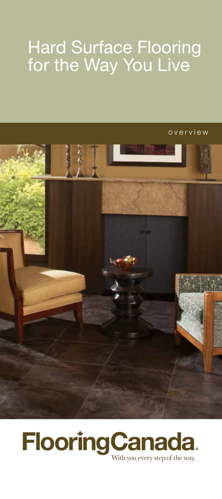 Flooring Canada Hard Surfaces for the Way you Live Brochure