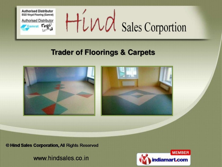 Flooring Services and Carpets by Hind Sales Corporation, Pune