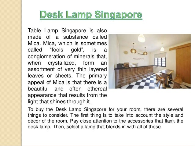 Singapore Lamp Shades Table Lamp Singapore is Also