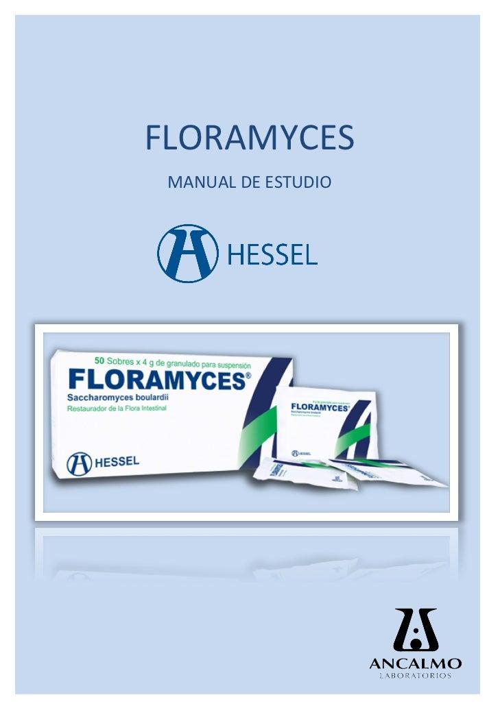 Manual de Estudio Floramyces - Restaura la flora intestinal