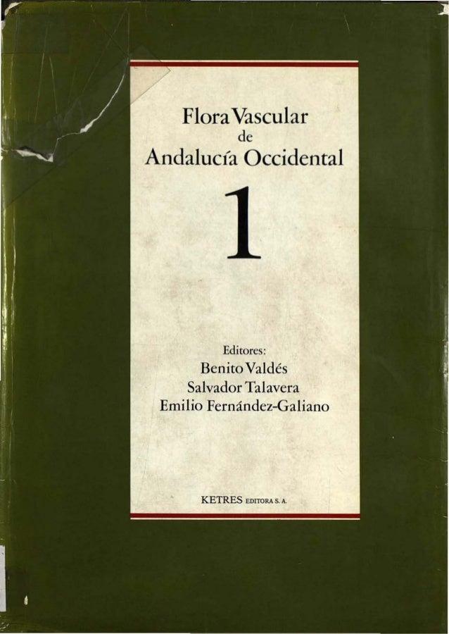 "Flora """"scular         doAndalucía Occidental        1"
