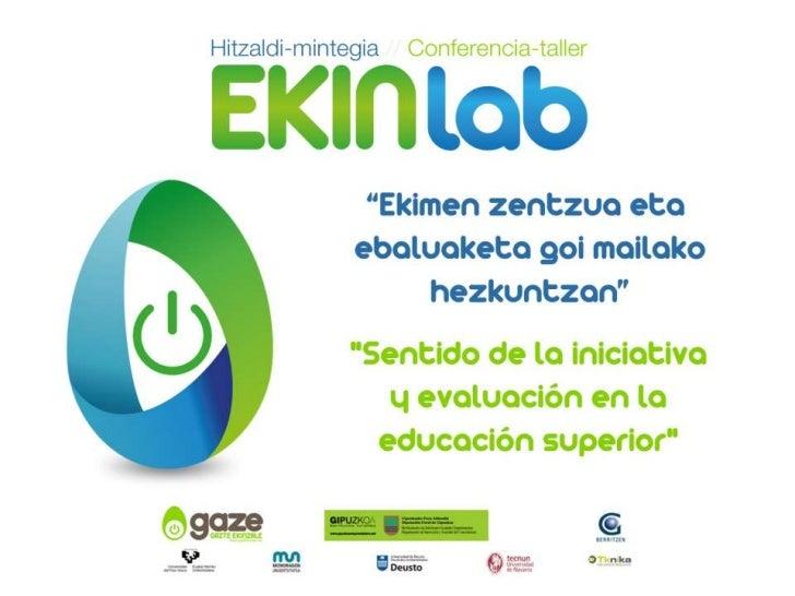 NUEVOS PLANTEAMIENTOS EN EVALUACIÓN DE LOS APRENDIZAJES                         La evaluación como instrumento            ...