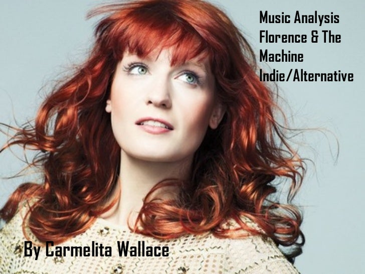 Music Analysis                       Florence & The                       Machine                       Indie/AlternativeB...