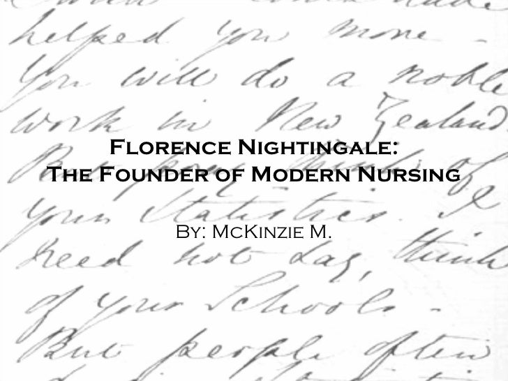 florence nightingales views on holistic care provided by nurses Nursing as defined by florence nightingale nursing  my care planning and i have a holistic view of  is provided for nature to act (nightingale, .