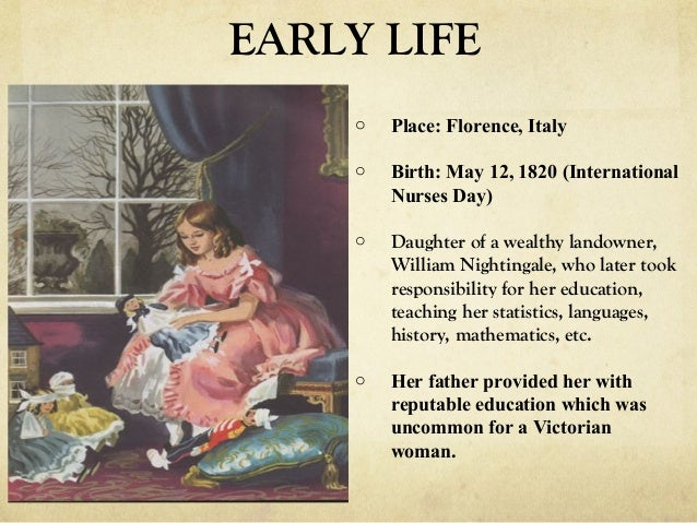 florence nightingale life and her contribution Florence nightingale is best remembered for her work as a nurse during the crimean war and her contribution towards the reform of the sanitary conditions in.