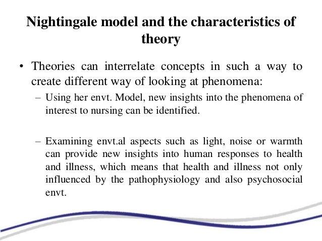 florence nightingale s environmental theory