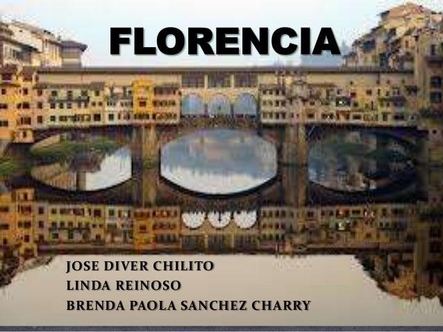 JOSE DIVER CHILITOLINDA REINOSOBRENDA PAOLA SANCHEZ CHARRY