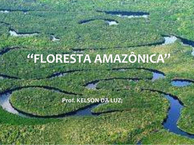 """FLORESTA AMAZÔNICA"" Prof. KELSON DA LUZ;"