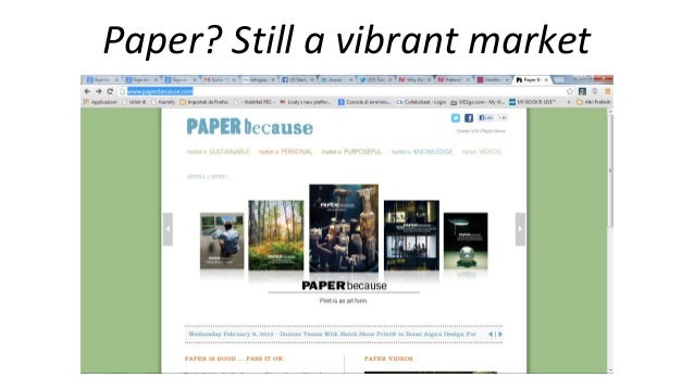 Business planning for entrepreneurs in the creative paper sector