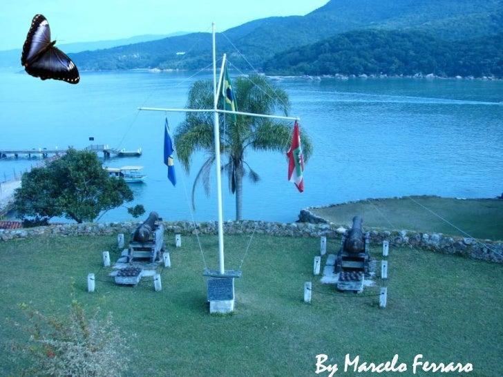 Florianópolis fortaleza anhatomirim edifcações