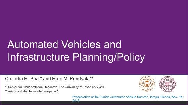 Automated Vehicles Summit