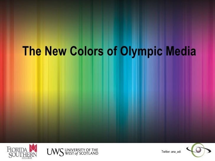 Media overview of the Olympics-past, present, future
