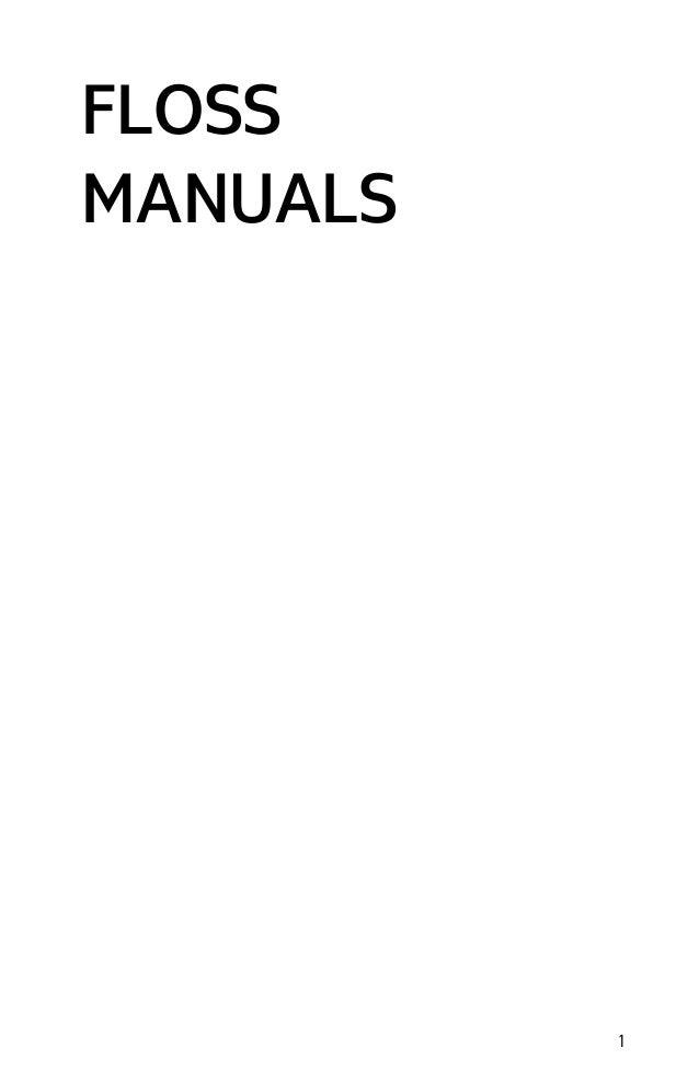 FLOSS Manuals