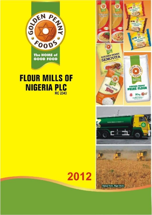 Flour Mills Nigeria Annual Report 2012
