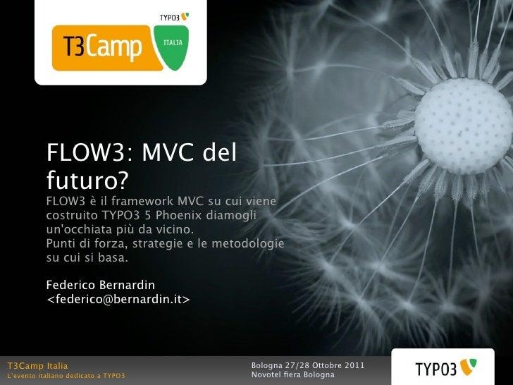 FLOW3: MVC del futuro