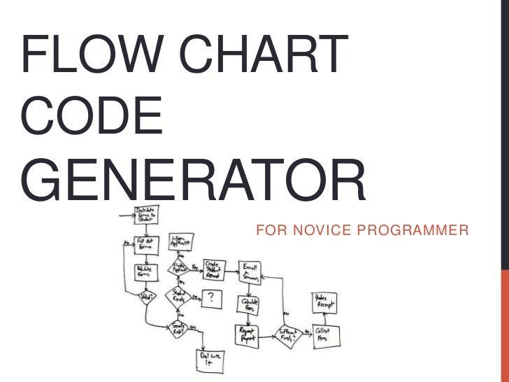 Flow chart code generator(firt seminar v1)