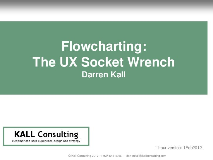 Flowcharting: The UX Socket Wrench