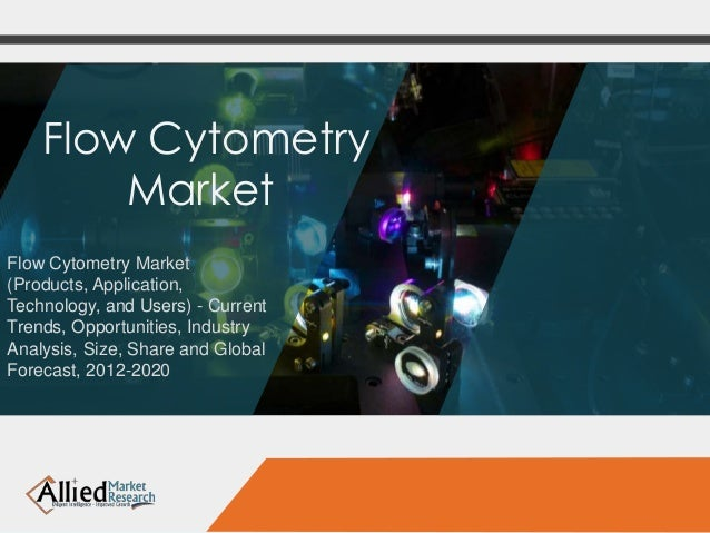 Flow cytometry market (products, application, technology, and users)   current trends, opportunities, industry analysis, size, share and global forecast, 2012-2020