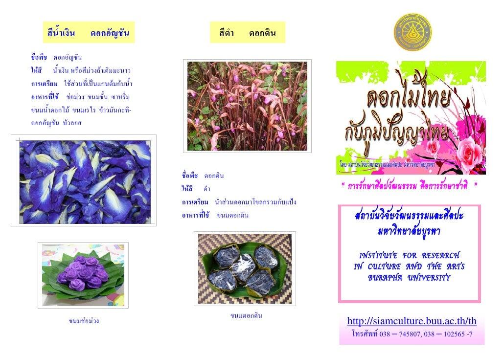Flower Thai Culture Color
