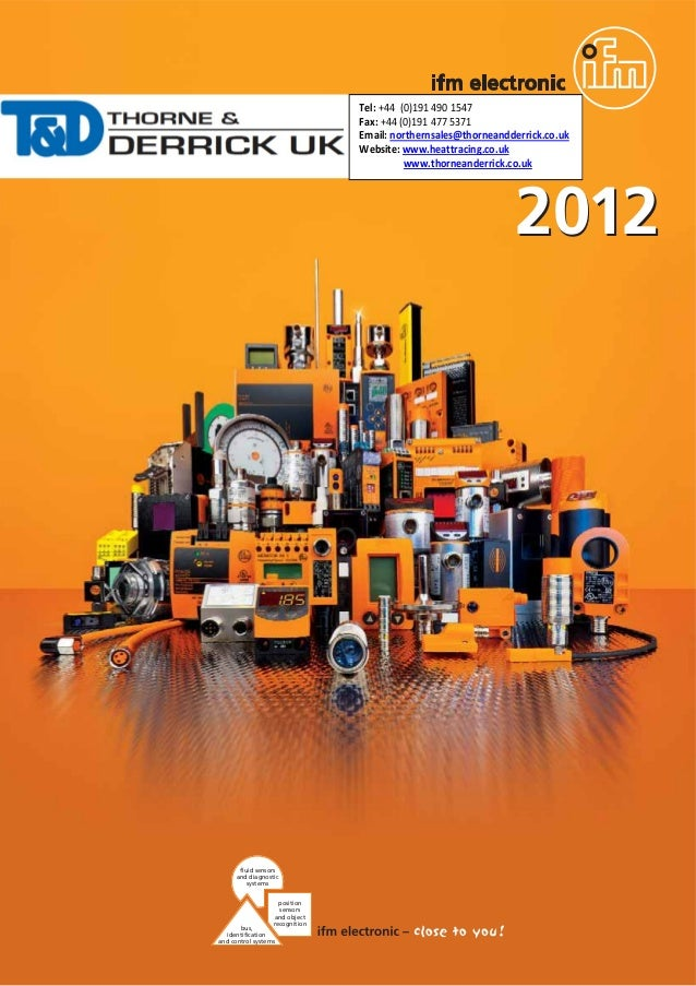 ifm Flow Meters and Sensors - 2012 Brochure