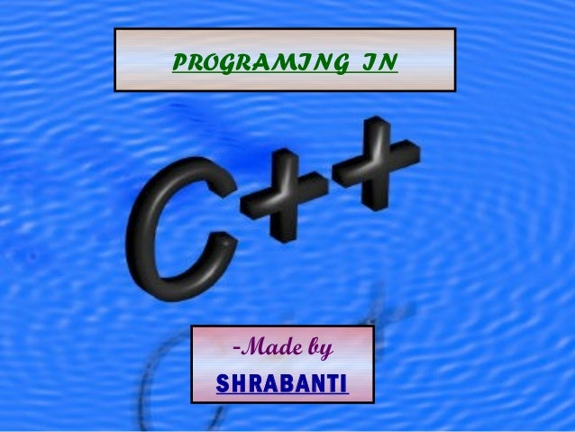 - Made by SHRABANTI PROGRAMING  IN