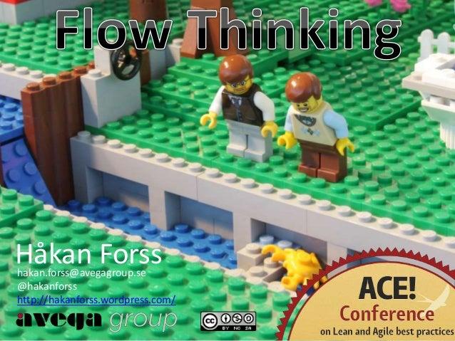 Håkan Forsshakan.forss@avegagroup.se @hakanforss http://hakanforss.wordpress.com/