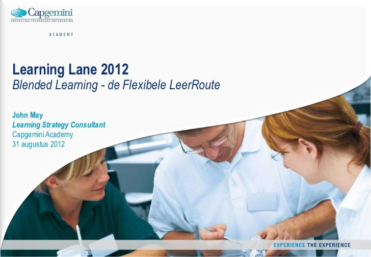 Flexibele Leerroute Learning Lane 31 aug 2012
