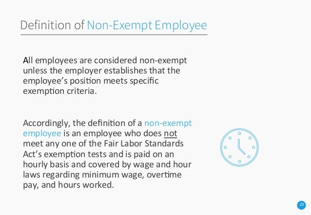 exempt or non exempt You are about to be signed out you will be signed out in seconds due to inactivity your changes will not be saved to continue working on the website, click stay signed in below.