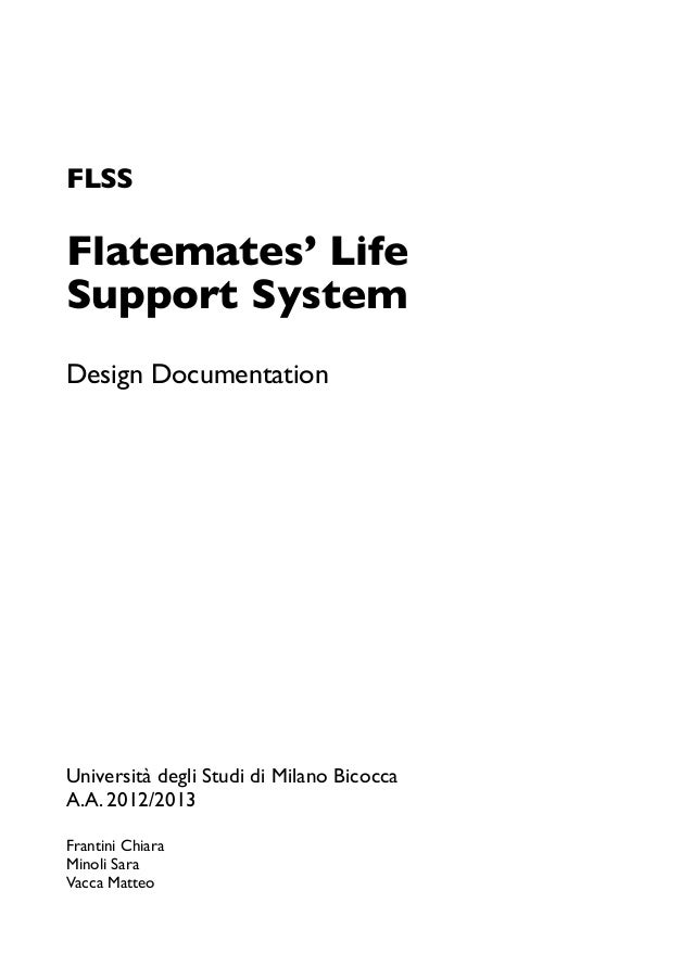 FLSS: documento di design