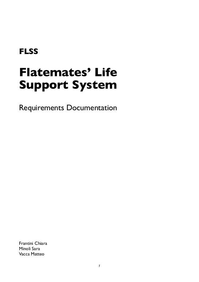 FLSS: documento dei requisiti