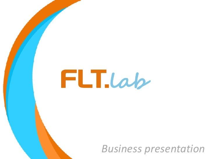 Flt.lab Presentazione Aziendale
