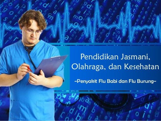 Pendidikan Jasmani, Olahraga, dan Kesehatan ~Penyakit Flu Babi dan Flu Burung~