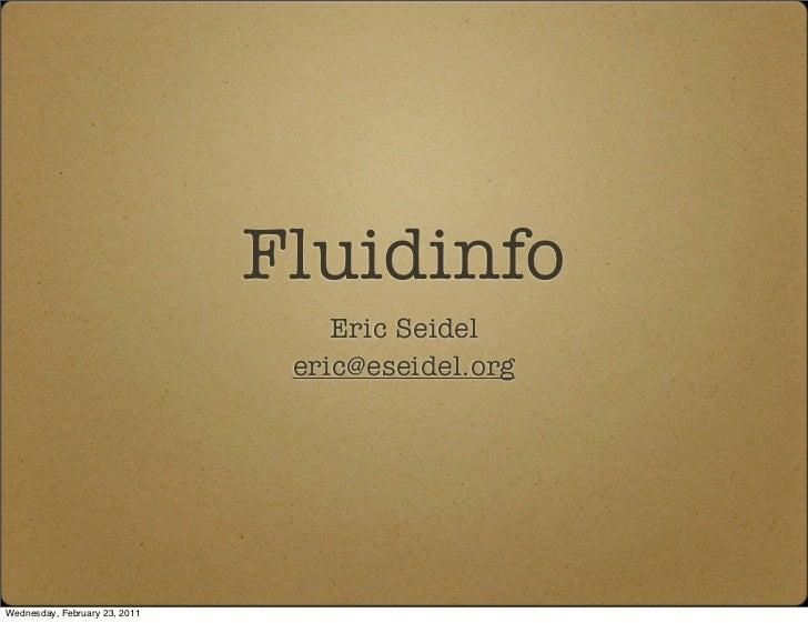 Fluidinfo