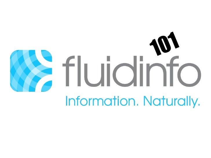 Fluidinfo 101