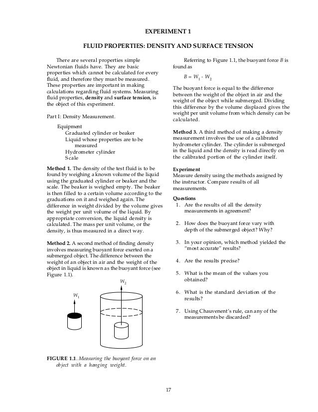 density lab essay You must read the lab sheet thoroughly and understand what you are expected to do  we will write a custom essay sample on density essay examples specifically for you.