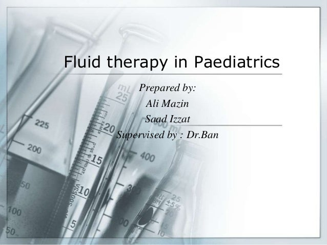 electrolytes used in replacement therapy pdf