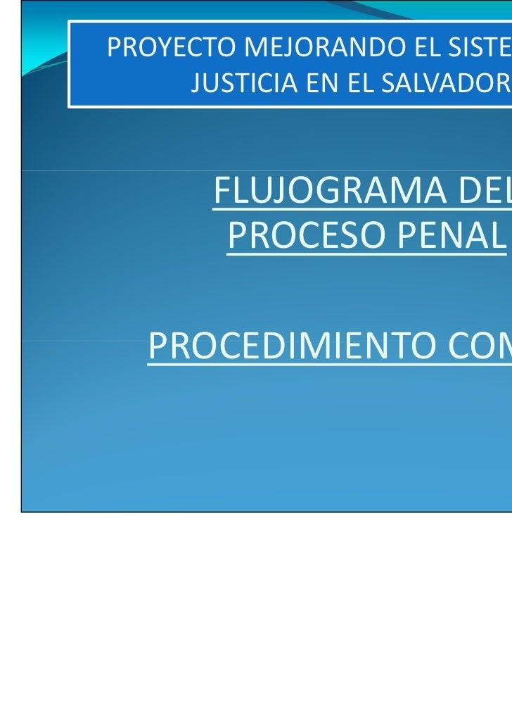 Flujograma procedimiento comun