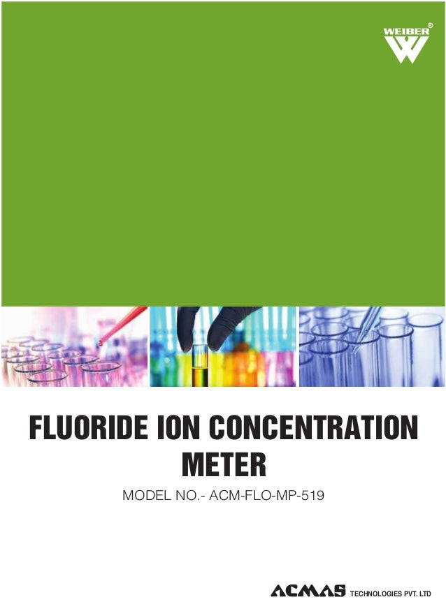 Fluoride Ion Concentration Meter by ACMAS Technologies Pvt Ltd.