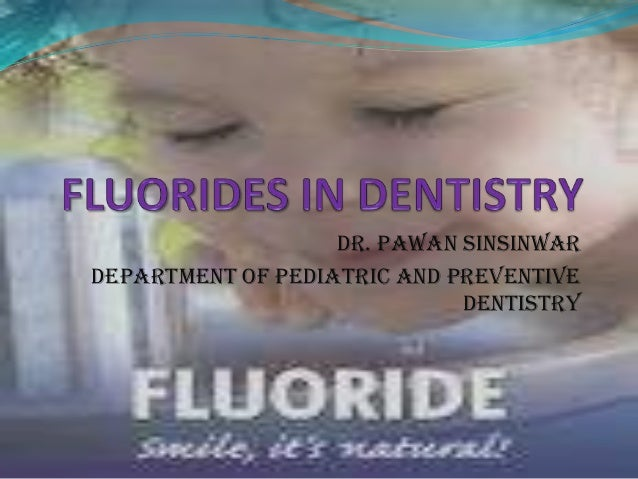 Fluorides third year class