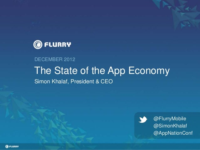 The State of the App Economy
